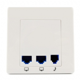M550 300Mbps in Wall Wireless Access Point with RJ45 and RJ11