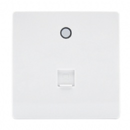 11ac 750Mbps in Wall Wireless Access Point with RJ45 & WiFi Switch