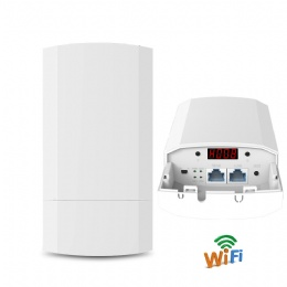 OAP70 Outdoor CPE Router Point-to-Point 1-2KM Elevator Wireless CPE Bridge Router Wifi Repeater Wireless AP For IP Camera